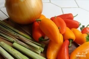 Мраморная говядина с овощами - фото шаг 3