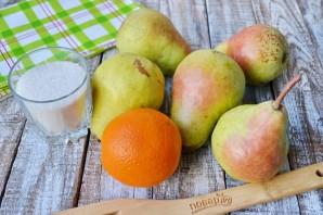 Варенье из груш с апельсином - фото шаг 1