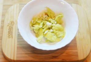 Салат из авокадо - фото шаг 3