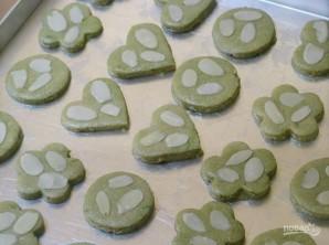Печеньки с зеленым чаем - фото шаг 4