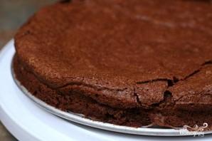 Шоколадный пирог с глазурью - фото шаг 3
