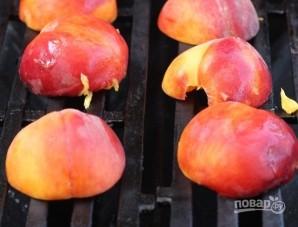 Жареные персики на гриле - фото шаг 2