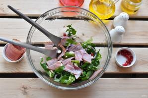 Салат с персиками - фото шаг 5