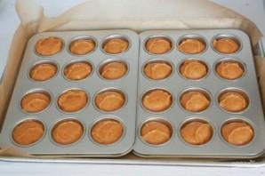 Вкусные тыквенные кексы - фото шаг 8