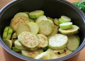 Грибы с овощами в мультиварке - фото шаг 6