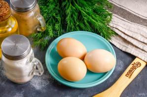 Яичные гнезда - фото шаг 1