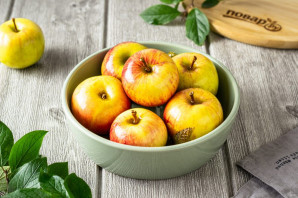 Яблоки моченые с солодом - фото шаг 7