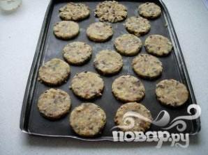 Овсяное печенье с миндалем и шоколадом - фото шаг 11