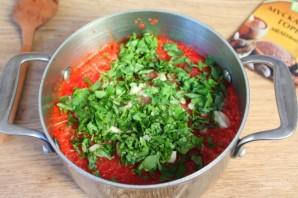 Зимняя заготовка для соуса болоньезе  - фото шаг 6