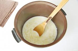 Молочная лапша в мультиварке - фото шаг 4