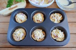 Хлебные корзиночки с начинкой - фото шаг 9