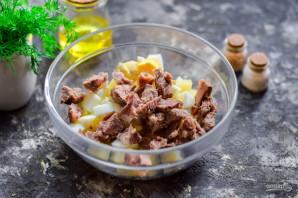 Картофельный салат с говядиной - фото шаг 4