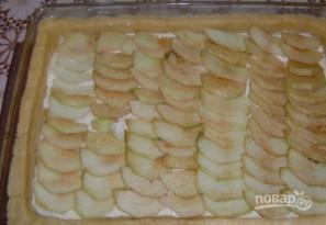 Пирог c воздушным творогом и яблоками - фото шаг 6