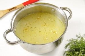 Куриный суп с яблоками - фото шаг 7