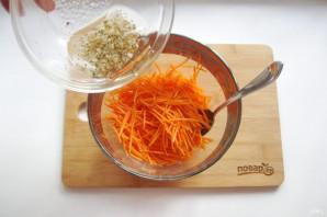 Морковь по-корейски с опятами - фото шаг 10