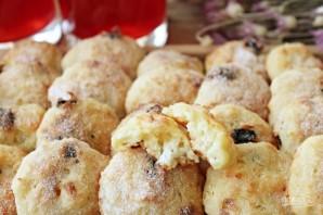 Творожное печенье с изюмом - фото шаг 7