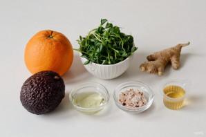 Салат с авокадо и имбирем - фото шаг 1