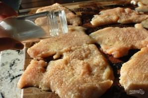 Куриные грудки с сыром в духовке - фото шаг 3