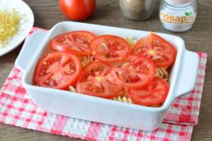 Запеканка из макарон с помидорами и сыром - фото шаг 7