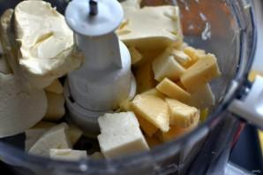 Киш с тыквой и зеленым луком в сырной заливке - фото шаг 6