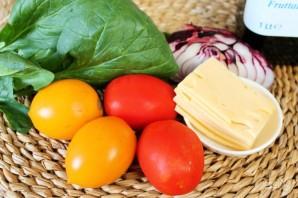 Салат из помидоров со шпинатом - фото шаг 1
