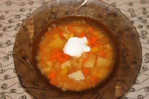 Вегетарианский суп в мультиварке - фото шаг 6