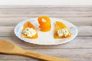 Рулетики из запеченного перца с творожным сыром - фото шаг 7