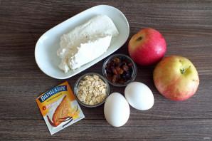 Запеканка с яблоками для диабетиков - фото шаг 1