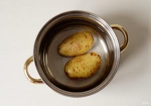 Салат из молодого картофеля - фото шаг 2
