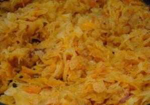Запеканка с сыром и ветчиной - фото шаг 5