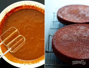 Вегетарианский шоколадный торт - фото шаг 1