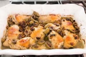 Курица с оливками по-испански - фото шаг 4