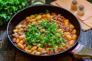 Фарш с фасолью в томатном соусе - фото шаг 6