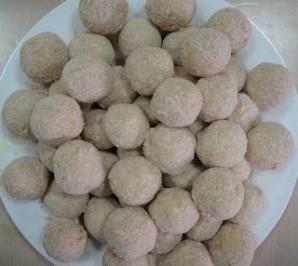 Сырные шарики в кляре - фото шаг 8