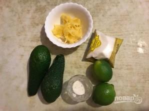 Мороженое из авокадо с лаймом - фото шаг 1
