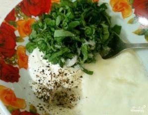 Брокколи в сливочно-чесночном соусе - фото шаг 2