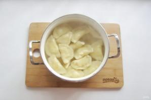 Вареники с солеными груздями и картошкой - фото шаг 13