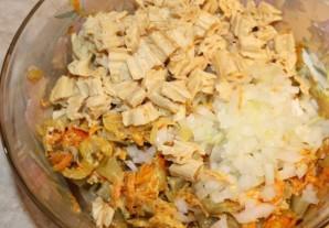 Салат из спаржи с морковью - фото шаг 6