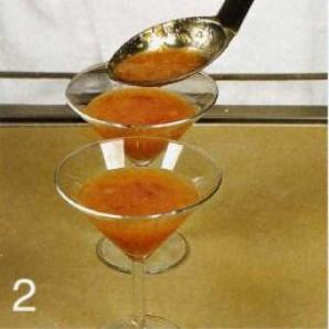 Персиковое пюре с заварным кремом - фото шаг 2