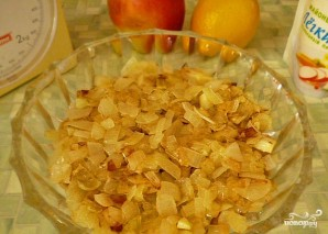 Салат с маринованными шампиньонами - фото шаг 5