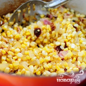 Кукурузный суп с чили - фото шаг 9