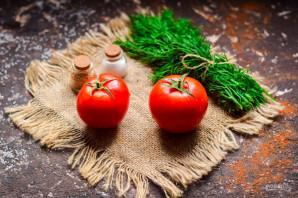 Салат из помидоров по-пекински - фото шаг 1