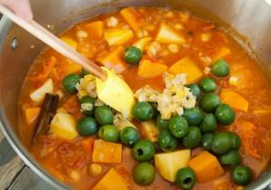 Рагу из тыквы с овощами - фото шаг 7