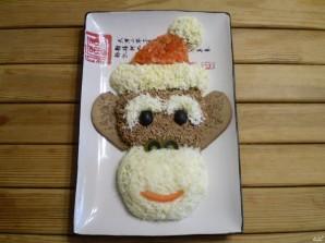 """Салат """"Новогодняя обезьянка"""" - фото шаг 12"""