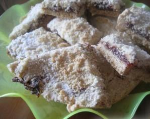 Насыпной пирог с вареньем - фото шаг 5