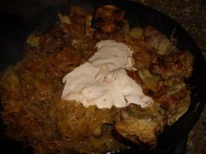 Тушеные говяжьи ребрышки с картошкой - фото шаг 3