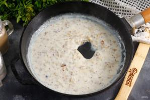 Сливочный соус с базиликом - фото шаг 6