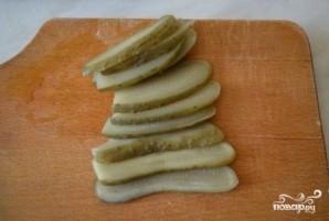 Сосиски в слоеном тесте в духовке - фото шаг 3