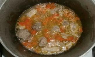 Тушеное мясо в утятнице - фото шаг 7