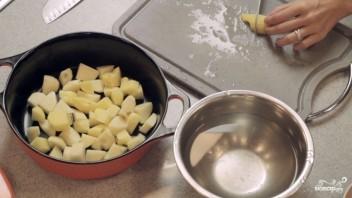 Тушеное мясо с картошкой - фото шаг 1